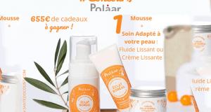 10 lots de 2 produits cosmétique Polaar Eclat Boréal offerts