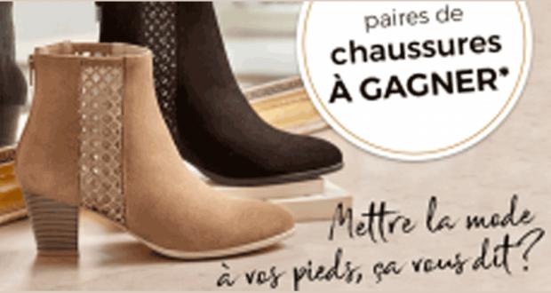 bas prix 176e9 34bc8 10 paires de chaussures Blanche Porte offertes gratuitement