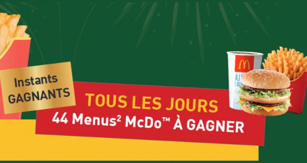 1452 menus McDonald's offerts