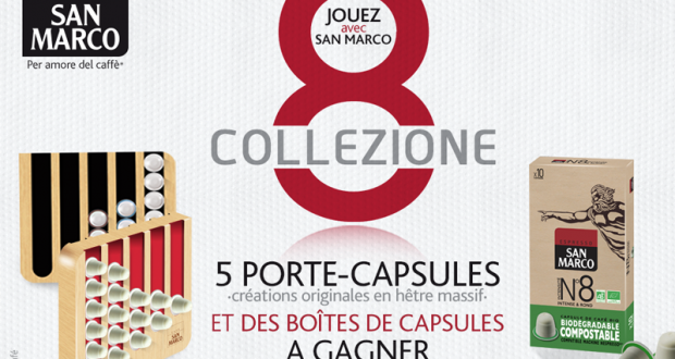 180 boîtes de capsules de café + 5 porte capsules