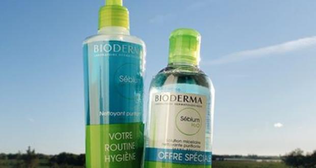 3 coffrets de 4 produits Bioderma offerts