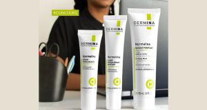 3 lots de 3 produits cosmétiques Dermina offerts