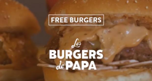 300 burgers gratuits aux Burgers de Papa