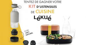 33 kits de cuisine Lékué offerts