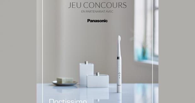 4 brosses à dents électriques Panasonic France offertes