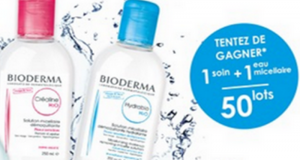 50 Lots de 2 Produits Bioderma offerts