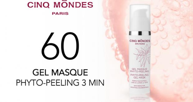 60 Gel Masque Phyto-Peeling 3 min de Cinq Mondes à tester