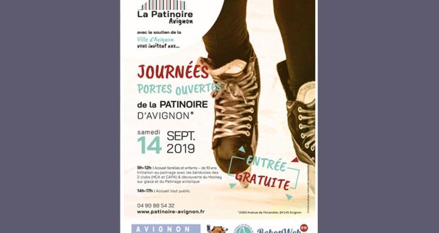 Entrée gratuite à la patinoire d'Avignon