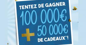 Gagnez un chèque d'une valeur de 100 000 euros