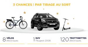 Gagnez une voiture Peugeot 2008 de 20663 euros