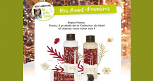 Testez en avant-première 3 Produits de la Collection de Noël Yves Rocher