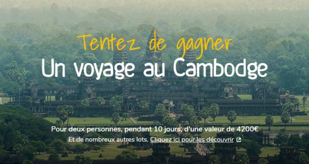Voyage de 10 jours au Cambodge pour 2 personnes