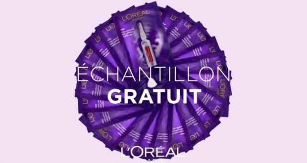 Échantillons Gratuits Soin Revitalift Filler de L'Oréal Paris