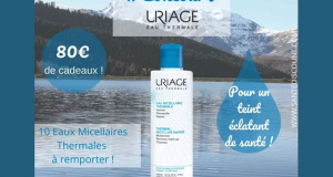 10 eaux micellaires Thermales Uriage offerts