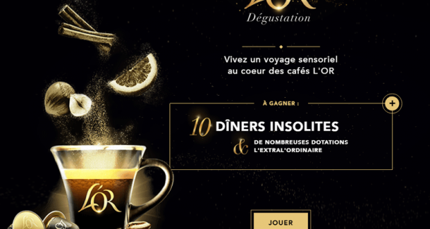 100 assortiments de produits L'Or offerts
