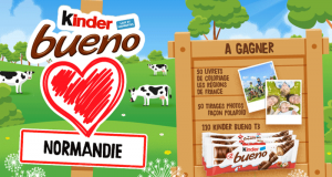 110 lots de chocolat Kinder Bueno offerts