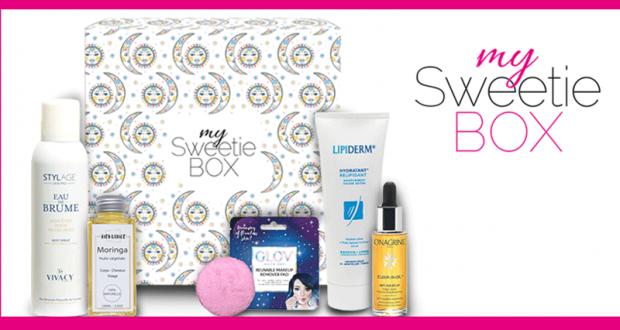 15 box de produits de beauté My Sweetie Box offertes