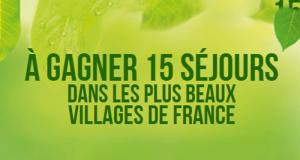 15 séjours pour 2 personnes dans les Plus Beaux Villages de France