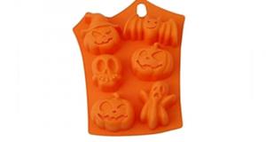 30 Moules en silicone pour gâteaux d'Halloween à tester