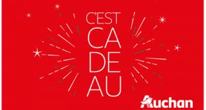 30 cartes cadeaux Auchan de 50€ offertes