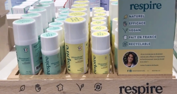 6 lots de 2 déodorants Respire offerts