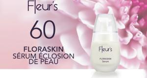 60 Sérums Éclosion de Peau FLORASKIN de Fleur's à tester