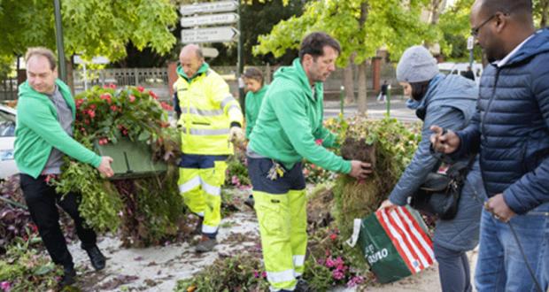 Distribution gratuite de plantes - Malakoff