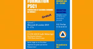 Formation PSC1 Gratuite - Bussy Saint-Georges