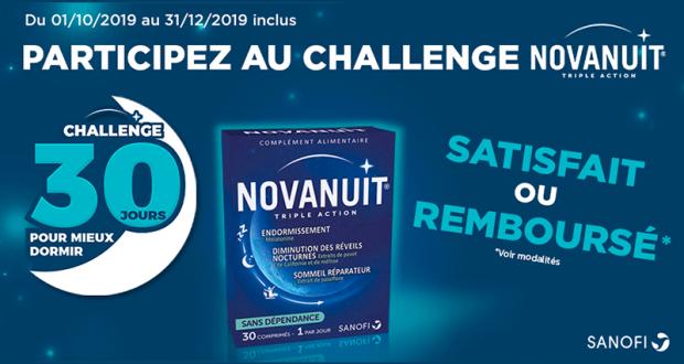 Novanuit Triple Action Sanofi 100% Remboursé