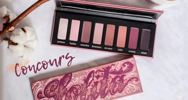 Palette de maquillage Lolita de Kat Von D offerte