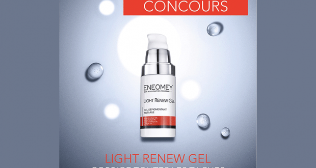 Produit cosmétique Light Renew Gel offert