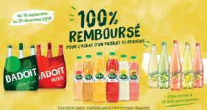 Produits Badoit ou Volvic 100% Remboursés