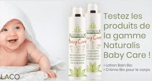 Testez les Produits de la gamme Naturalis Baby Care