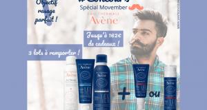 3 lots de produits pour le rasage Avène Men offerts