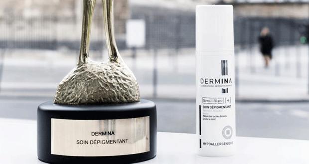 3 soins dépigmentant Sensiblanc Dermina offerts