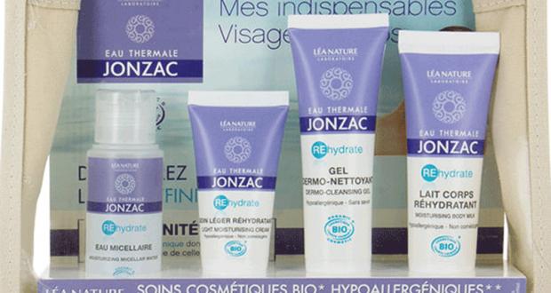 60 trousses de 4 produits Eau Thermales de Jonzac offertes