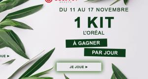 7 kits L'Oréal offerts