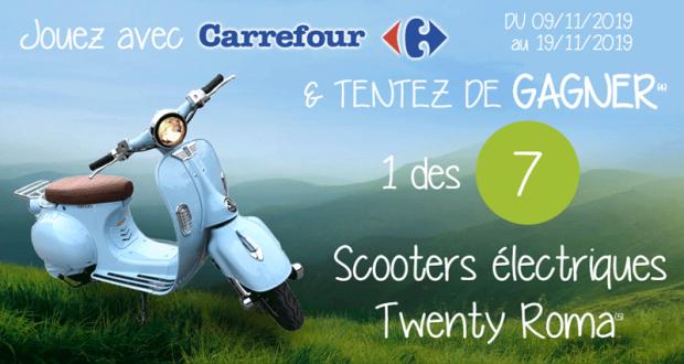 7 scooters électriques Twenty Roma à gagner