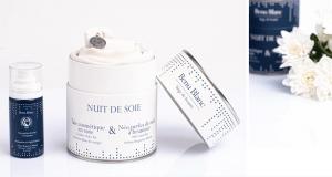 8 lots de 2 produits de soins Nuit de Soie Benu Blanc offerts