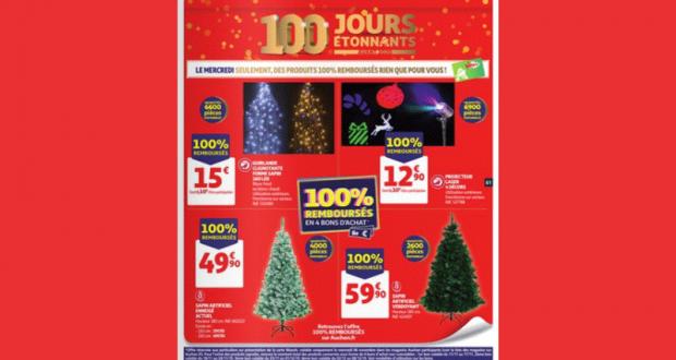 Auchan Produits 100% remboursés le 06 Novembre 2019