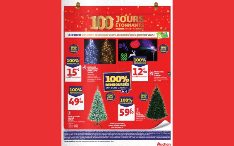 Auchan Produits 100 Remboursés Le 06 Novembre 2019