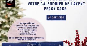 Des calendriers de l'avent de produits de beauté Peggy Sage
