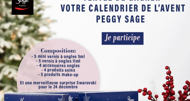 Calendrier Peggy Sage.Des Calendriers De L Avent De Produits De Beaute Peggy Sage