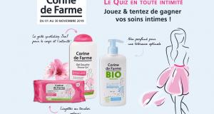 Des soins intimes Corine de Farme offerts