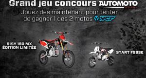 Gagnez 1 moto YCF Bigy 150 MX Ou 1 moto junior YCF
