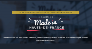Invitation gratuite pour le salon Made in Hauts-de-France