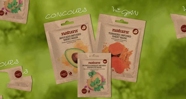 Lot de 3 masques de beauté Vegan Beauty Pro offert