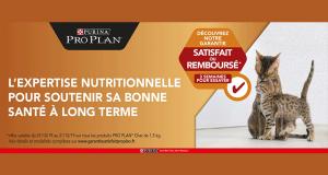 Purina Pro Plan sac d'aliment pour chat satisfait ou remboursé