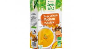 Testez la Soupe Veloutée Potiron – châtaigne Jardin BiO