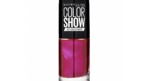 Testez le Vernis à Ongles – Color Show – Maybelline
